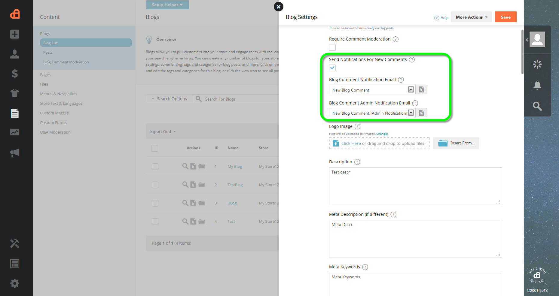 FEATURE: 2013 5 - Blog commenting notification – Knowledge Center